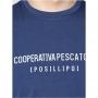 COOPERATIVA PESCATORI POSILLIPO MAGLIA TSHIRT  MH/531 BLU P/E 20