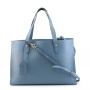Borbonese 923682-J04 in Pelle Blu