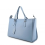 Borbonese 923680-J04 in Pelle Blu