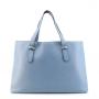 Borbonese 923673-J04 in Pelle Blu