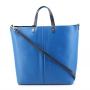Borbonese 903840-J61 in Pelle Blu